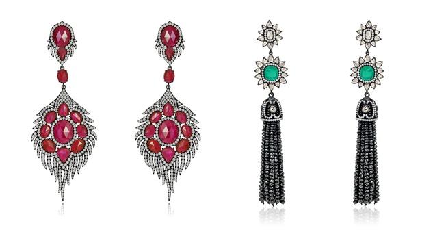 Sutra Earrings SJE1047B and SJE903B