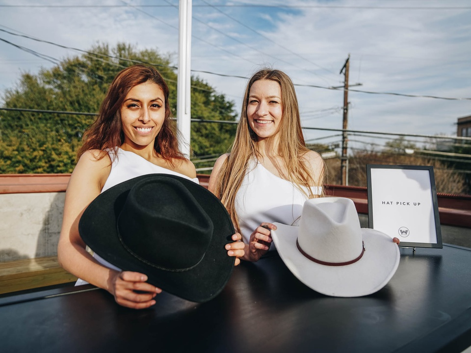 SXSW Westworld Experience at Eastside Tavern Black Hat White Hat Pickup