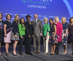 Brynna Boyd, Laura Downing, Jennifer Bartowski, Emma Rose Shore, Nina Vaca, Dr. Mae Jemison, Todd Williams, Sara Martineau, Shelly Goel, Kit Addleman, Clarice Tinsley