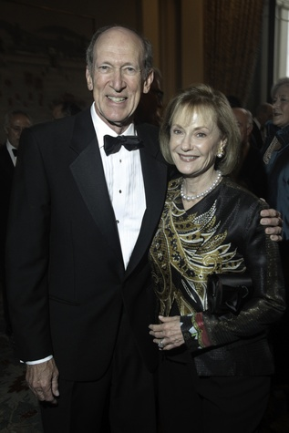 News, Baker Institute dinner, April 2015, Marc Shapiro, Jeri Shapiro