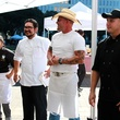 Food Day Chef Throwdown Roshni Gurnani, from left, Rob Frias, Greg Gordon and James Ashley