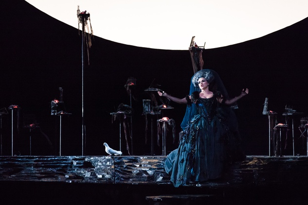 Houston Grand Opera HGO The Magic Flute January 2015 Kathryn Lewek as Queen of the Night