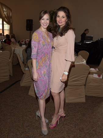 1, Pin Oak Charity Horse Show luncheon, March 2013, Bridget Boggess, Marie Myers-Brunsjpg
