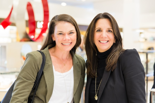Alison Plumhoff and Shelley Masterson at Katie Design party at Neiman Marcus