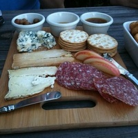 Austin Photo: Places_food_apothecary cafe and wine bar cheese and sausage