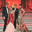 John Taylor, Gela Nash-Taylor, Nick Rhodes, Nefer Suvio at Louvre Gala June 2013