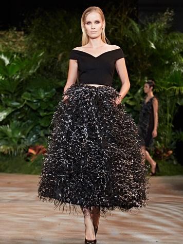 Clifford New York Fashion Week fall 2015 Christian Siriano March 2015 Look 31