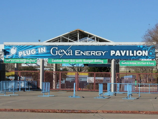 Gexa Energy Pavilion in Dallas