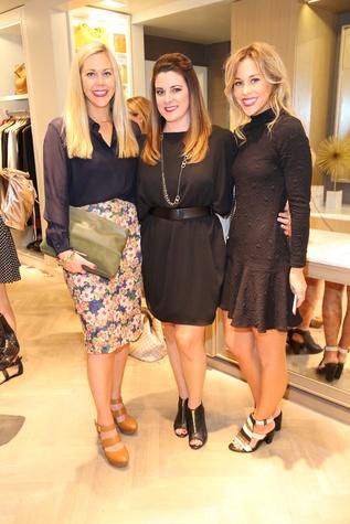 Heather McLeskey, Elaine Turner Executive VP, from left, Elaine Turner and Nashville Blogger Mary Seng of Happily Grey