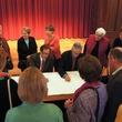 Art Guys Signing Ceremony, Julia Ideson Library, January 2013