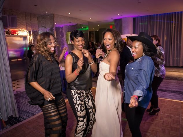 Gail Warrior, Tonya Veasey, Shon Gables, Tiffaney Dale Hunter Heart of a Warrior Casino Night