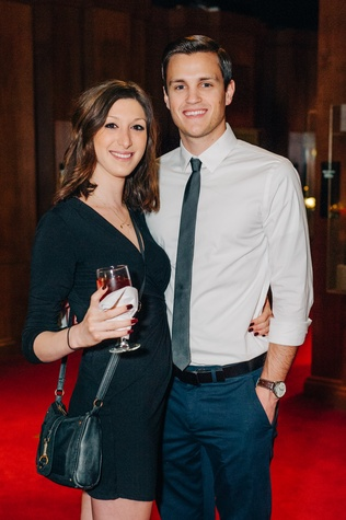 News, Shelby, Museum of Natural Science Catalyst party, Feb. 2015, Erin Rosenstein and Jonathan Wilson
