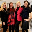 Karen Luter, Nina Lowe, Sloane Riley, Gina Miller, front door fashion party