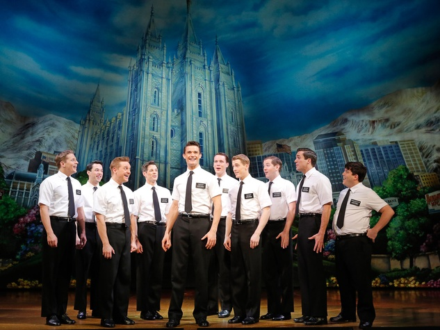 2 The Book of Mormon at the Hobby Center September 2013