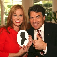 Cindi Rose and Governor Rick Perry
