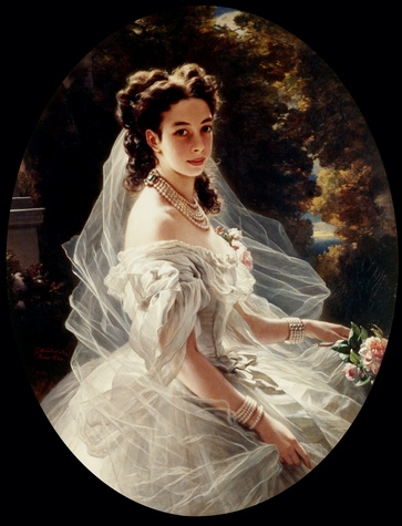 Winterhalter - Pauline Sándor, Princess Metternich