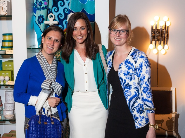 Jonathan Adler Houston April 2013 Kendall Monroe, Katie Pryor, Sarah Thornton