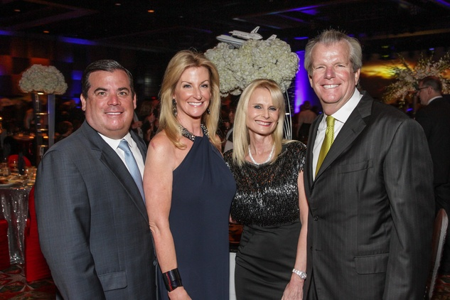 Houston, Galaxy Gala Space Center, May 2015, Dan and Kim Moody, Jo Lynn and Gregg Falgout