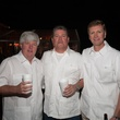 2A- Alan Crosswell, from left, John Mecom and Mark Lange at the Clayton Dabney fundraiser March 2014