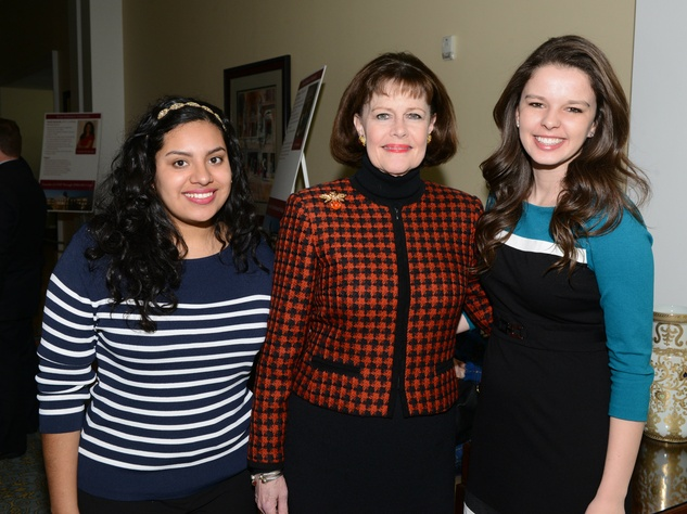 Africa Hernandez, Debbie Gibson (TWU Regent), Ronni Boyer
