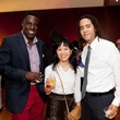 179 Kofi Burney, from left, Tu Dao and Josh Zulu at the Leo Bar relaunch party October 2013