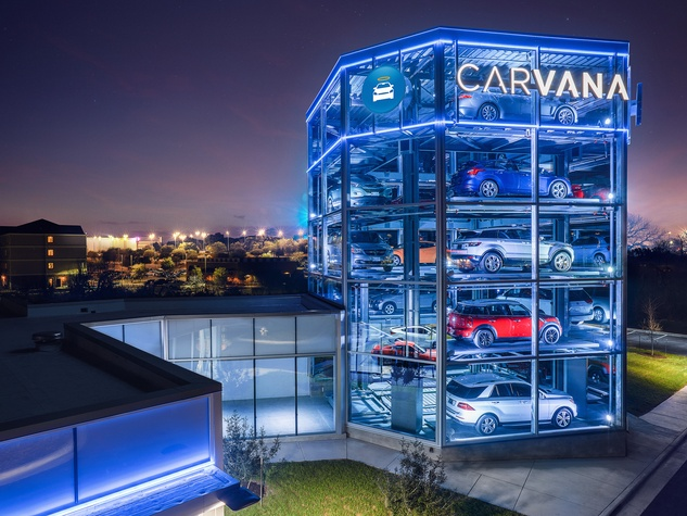 Carvana vending machine Austin