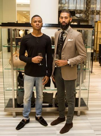 Houston Stylemakers 2015 Jared Haskie, Josh Robertson