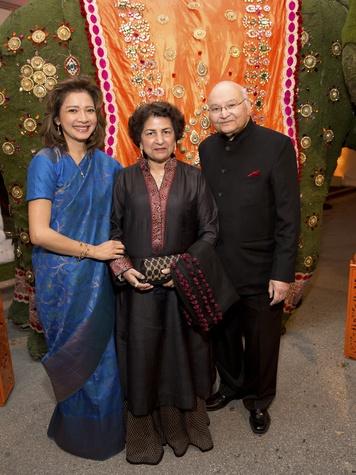 Houston, Tiger Ball, March 2017, Bonna Kol, Nalini Mathur, Dr. Virendra Mathur