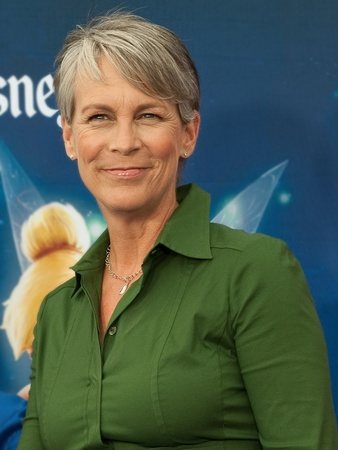 Jamie Lee Curtis, head shot