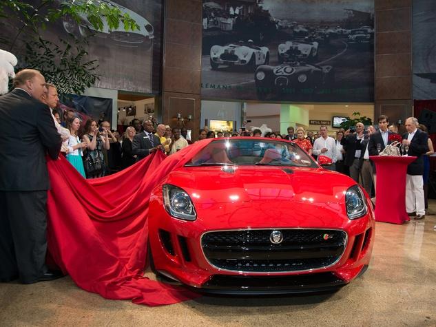 5 Jaguar F-Type Launch Houston May 2013 Jaguar F-Type reveal