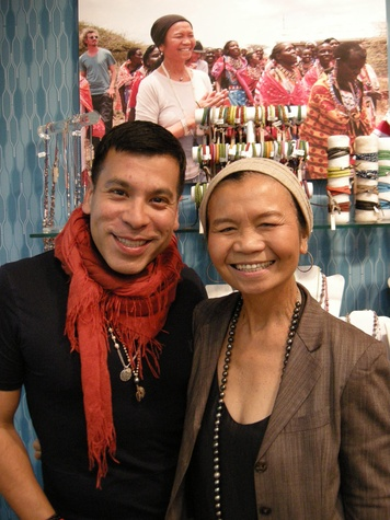 J. Silver, Chan Luu jewelry designers