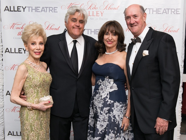News, Shelby, Alley gala, May 2015, Margaret Williams, Jay Leno, Mady and Ken Kades
