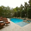 Pool at 3801 Normandy Ave. in Dallas
