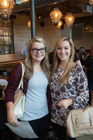Houston, Casa de Esperanza YP Happy Hour, September 2015, Meredith and Ally Hatz