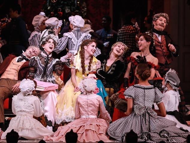 The cast of Houston Ballet The Nutcracker