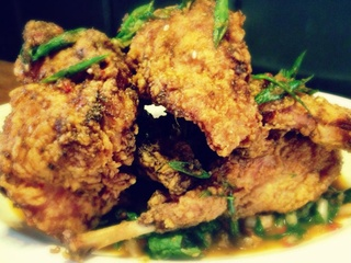 Dai Due fried rabbit