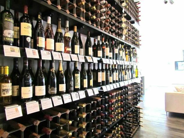 Departure Lounge wine rack
