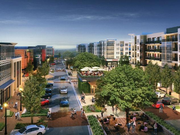 Rendering of Wade Park Plaza in Frisco