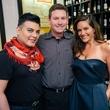 14 Edward Sanchez, from left,  Mark Beringer and Mauney Mafrige at the Artesa wine tasting at Cru March 2014