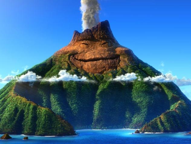 Pixar short film Lava