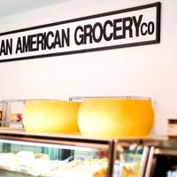 Italian American Grocery Heights internal sign