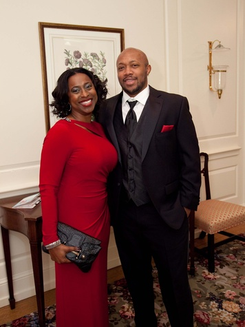 13 Nicole and Chris Walters at the Junior League of Houston Charity Ball February 2014