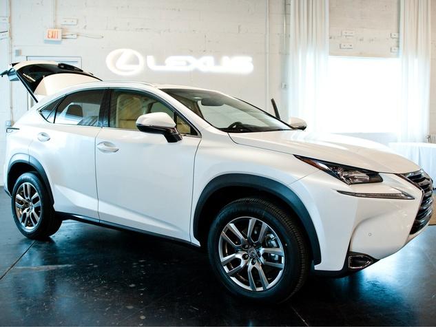 Lexus at CultureMap Holiday Pop-up Shop 2014