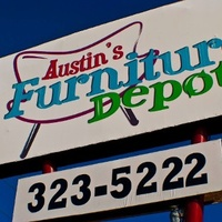 Austin Photo: Places_shopping_austin's_furniture_depot_sign
