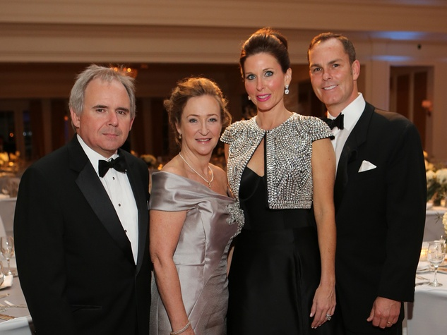 5 Rihl and Carol Buckley, from left, and Michelle and Duncan Stewart at the Trees of Hope Gala November 2013