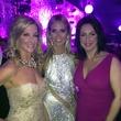Kim Moody, from left, Heidi Klum and Alicia Smith at Elton John Oscar party February 2015