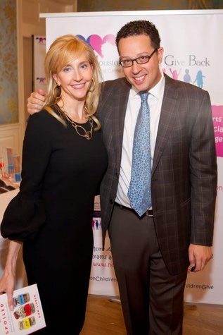 News, Shelby, Houston Children Give Back, Oct. 2015, Tricia Dewhurst, Ron Lieber