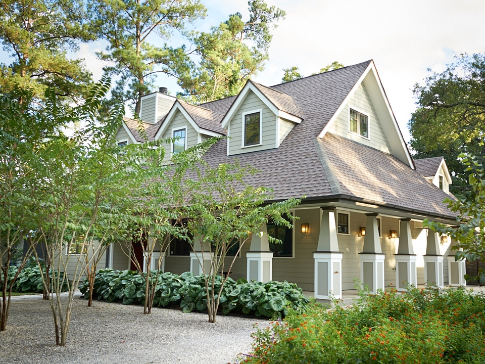 Garden Oaks Home & Garden Tour April 2014 HOUSE 807 La Monte exterior front