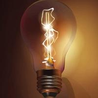 light bulb, bright idea