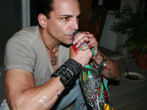 Richard Grieco, artist, September 2012